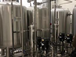 常州医用纯水机中央供水系统案例